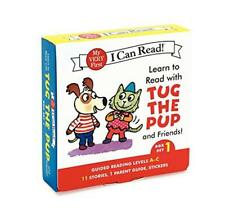 Learn LEGGERE CON Tug THE PUP and Friends! Cofanetto 1: LIVELLI INCLUSO: A-C (My