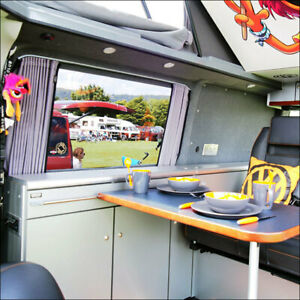 For Ford Transit MK7 Premium 1 x Side Window Curtains.campervan conversion parts
