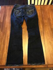 Silver Jeans Women's Size 26 Suki Surplus EUC