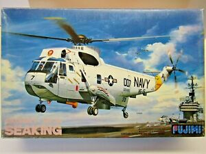 Fujimi 1:72 Scale Sikorsky SH-3H Sea King Helicopter Model Kit - New # Q6:1000