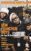 Urbanews Magazine Dem Franchize Boys Dwele Public Annoucement February 2006