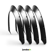 """Universal JDM Fender flares CONCAVE over wide body wheel arches ABS 1.5"""" 4pcs"""