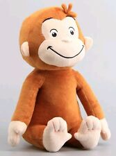CURIOSO COME GEORGE PELUCHE 33Cm Curious Curios Cartone Animato Scimmia Tv Plush