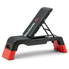 Reebok Professional Deck Workout Bench Adjustable Home Gym Lifting Exercise