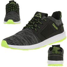 Kappa Feeny Sneakers Unisex Sneakers Shoes Black/Green 242683