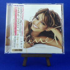 JANET JACKSON: All For You (RARE JAPANESE PROMO with JAPAN ONLY BONUS TRACK)