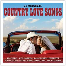 Country Love Songs - 75 Original Recordings 3CD NEW/SEALED