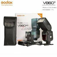 Godox V860 II E-TTL HSS 2.4G Flash Speedlite for DSLR Cameras w/ Li-ion Battery