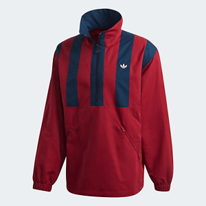 adidas Originals Mens Samstag Track Top comfort for every day red