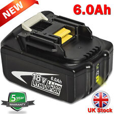 6.0Ah For Makita BL1850B 18V BL1860 LXT Battery Lithium-Ion BL1830 BL1840 BL1850