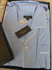 BNWT Polo Ralph Lauren Pyjamas  Blue Cotton  Pyjama Set size XXL