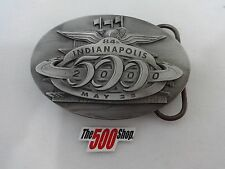 2000 Indianapolis 500 Belt Buckle Limited Edition 182 of 500 Pewter Montoya