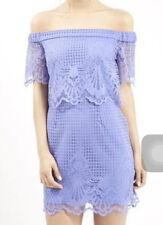 NWT TOPSHOP Bardot Off Shoulder Cocktail/Party Dress Size UK6 - RPP $90 (i18)