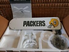 "Casablanca Green Bay Packers NFL Approved 52"" Ceiling Fan. 1995. New."
