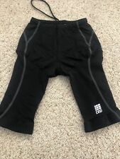 CEP Compression Triathlon Short Women's Size 1 Small Black Cycling Swim Run Bike