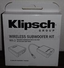 NEW Klipsch WA-2 Wireless Adapter Kit for R-110SW, R-112SW, R-115SW Subwoofers
