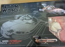 hasbro star wars black series 6 inch Luke skywalker?s X-34 Landspeeder