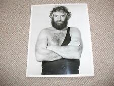 British wrestling photograph (1970s Big Bruno Elrington)