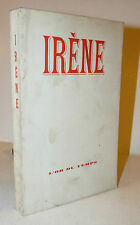 1968 IRENE Irène preface Pauvert Or du temps Avanguardia 1a ed tiratura limitata