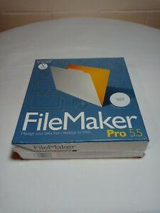 Filemaker Pro 5.5 Built for Mac OS X