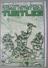 TEENAGE MUTANT NINJA TURTLES #4 1st Print 1985 MIRAGE STUDIOS EASTMAN & LAIRD