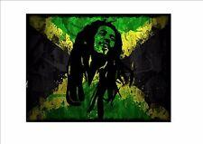 Bob Marley  Novelty  Metal Door Wall Sign Vintage style wall plaque Marley