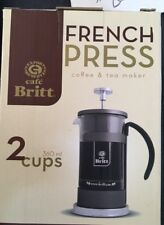 French Press Coffee & Tea  (2 cups)*$