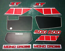 Yamaha xt600 43 f 83/86 moto bianca - adesivi/adhesives/stickers/decal