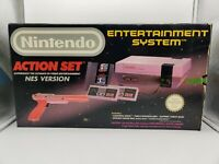 Nintendo NES Original PAL Console   ACTION SET   Zapper   Boxed