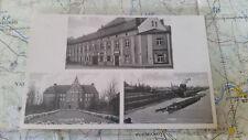 Gasthof Riesa Gröba Hafen Schlageter Schule AK Postkarte 0872