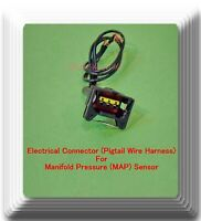 Connector of Manifold Pressure (MAP) Sensor AS457 Fits:Eclipse Endeavor Galant &