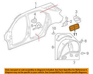 GM OEM Quarter Panel-Pressure Valve 22788177