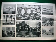 Stampa enorme Nel 1921 Parlamento Cirenaico insurrezione Polacca Pietro Mascagni
