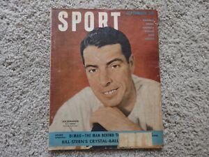 1949 Joe DiMaggio Sport Magazine