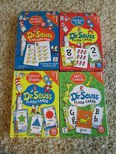 Dr. Seuss Flash Cards - Match & Go Fish!, Numbers 1-20, Colors + Shapes, Abc
