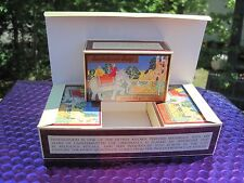 CRABTREE EVELYN MYSORE SANDALWOOD VINTAGE SOAP SET of 3 BOXED BARS in GIFT BOX