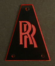 GUITAR TRUSS ROD COVER - Engraved Etched Fit JACKSON - RANDY RHOADS RR BLACK RED