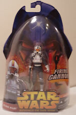 Star Wars Revenge Of The Sith ROTS #34 CLONE PILOT with Firing Cannon 2005