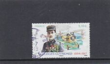 FRANCE 2017 GEORGES GUYNEMER (1894-1917) TIMBRE GOMME CACHET ROND PA.N° 81