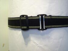 Les adultes élastique Ceintures Noires avec velcro ® marque Crochet /& LOOP attaches largeur 38 ml