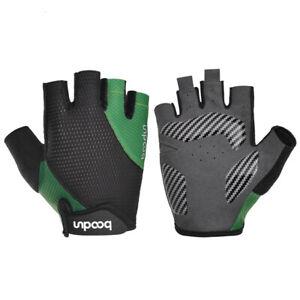 Half Finger Cycling Gloves AntiShock Summer Breathable Road Bike Gloves HL