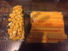 Home School Teachers Math Manipulation Base 10 linking Rods & Cubes - 150 plasti