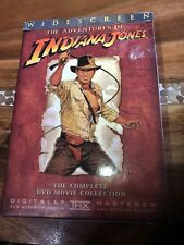 Indiana Jones - The Adventure Collection (DVD, 2003, 4-Disc Set, Widescreen)