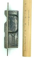 Ornate Cast Iron SINGLE Pocket Sliding Door Hardware Patented 1874