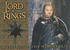 "Lord of the Rings Fellowship - ""Boromir's Cloak"" Memorabilia Costume Card"