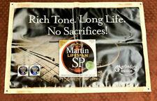 CF Martin & Co. Strings Dealer Advertisment Vinyl Banner