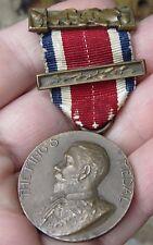 """Objet de Collection British bronze """"Les rois médaille"""" par le London County Council"""