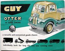 GUY Otter Mk III Lorry Original Commercials Sales Brochure 1959 H.30 1059