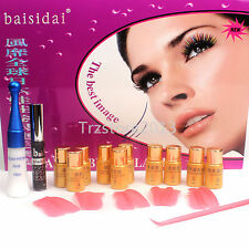 Fashion 8in1 Fantastic Extra Longer Curling Eyelash Perming Solution Kits Set