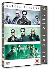 Complete Matrix Trilogy [DVD] [1999] Very Good DVD Harold Perrineau Jr,Gloria Fo